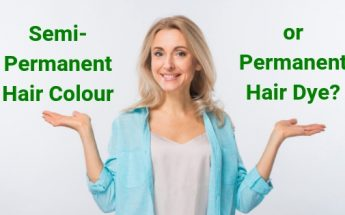 semi permanent or permanent hair colour